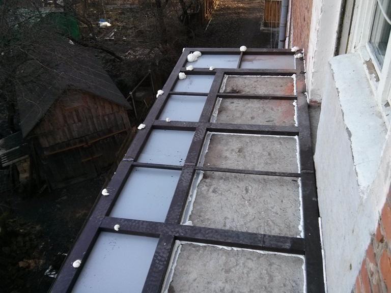 вынос балкона в житомире