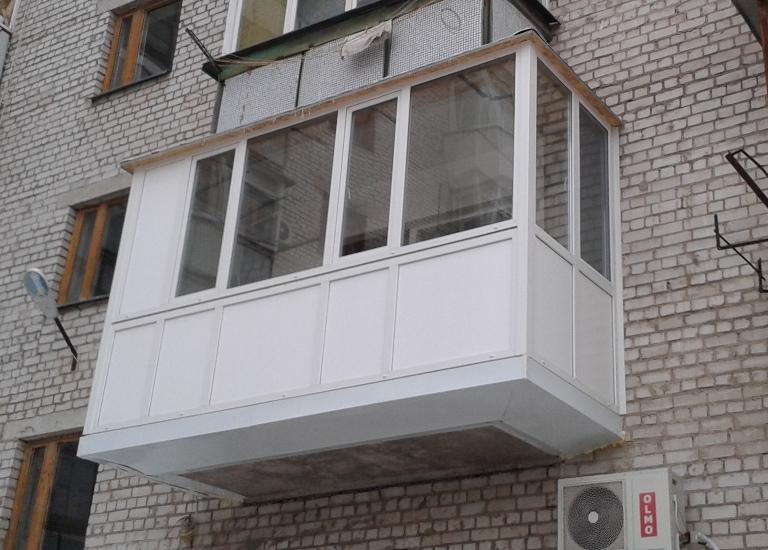 выносной балкон в житомире
