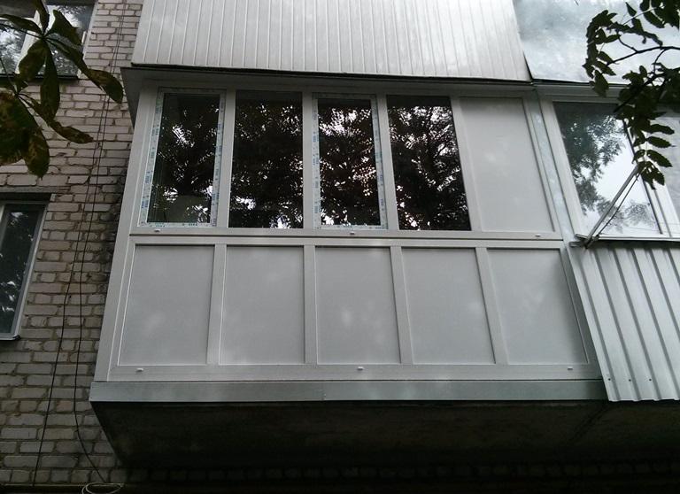г образный балкон в житомире