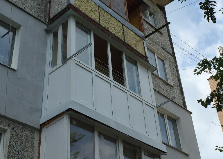 французский балкон в житомире